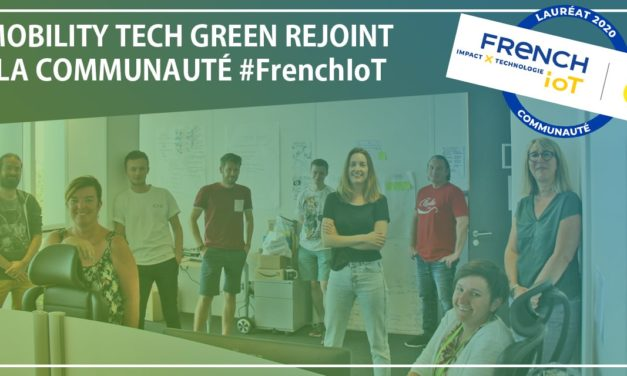 Mobility tech green lauréate du concours french iot