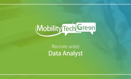Mobility Tech Green recrute son data analyst (h/f) – Offre pourvue